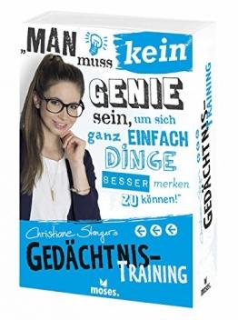 moses. 25150 - Christiane Stengers Gedächtnistraining - 1